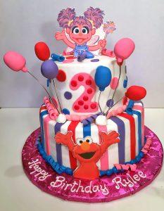 Kids Sesame Street Birthday Cakes Hands On Design Cakes
