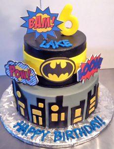 Boys Superhero Birthday Cakes Hands On Design Cakes