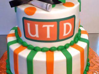 2tier, Cake, Graduation, University of Texas Dallas