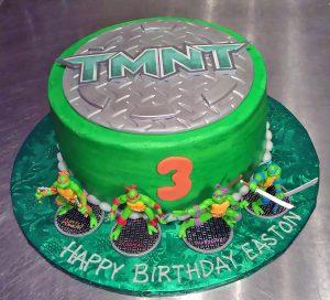 Kids Teenage Mutant Ninja Turtles Birthday Cakes Hands On Design