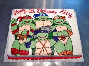 Kids Teenage Mutant Ninja Turtles Birthday Cakes Hands On Design Cakes