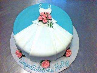 Bridal Shower, Cake, Dress