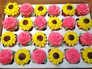 Cupcakes, Flowers