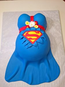 Cake Baby Shower Superman 119