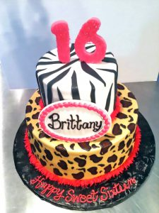 16th-birthday-2tier-cake-girls-leopard-zebra-621