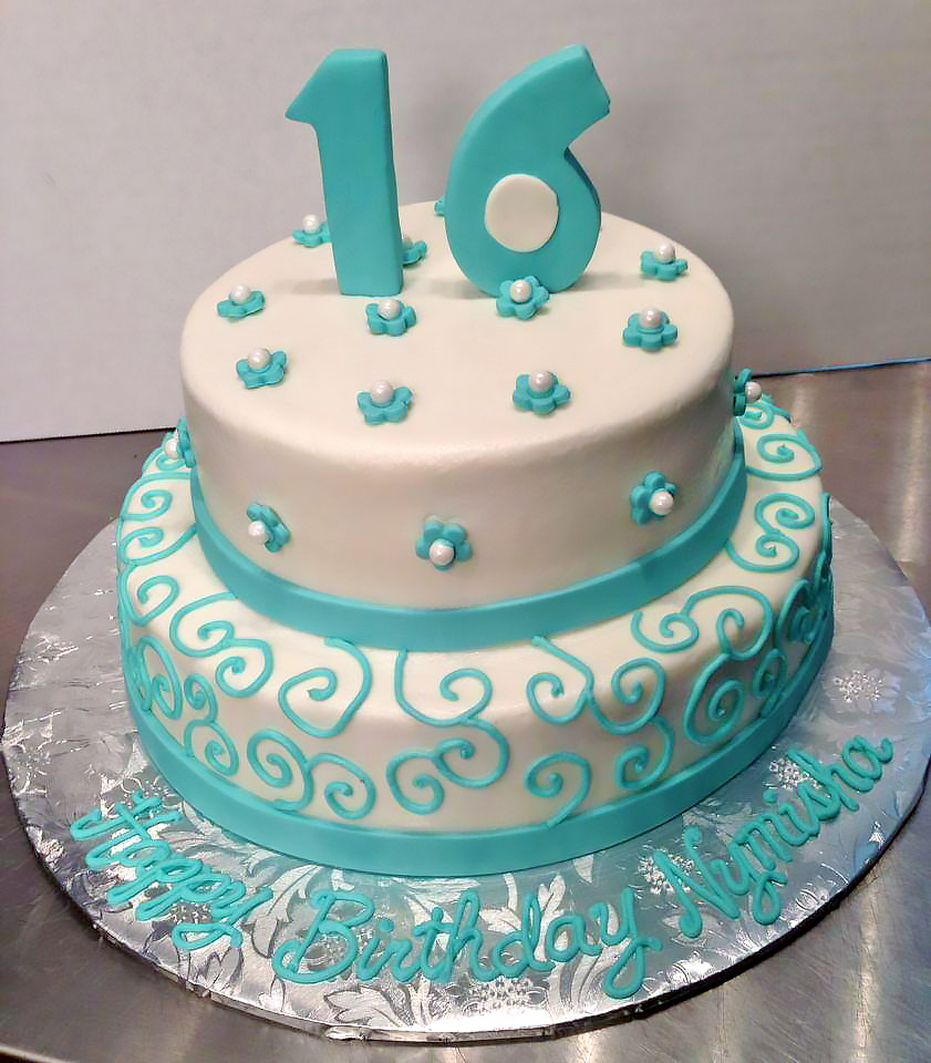 Girls Sweet 16 Birthday Cakes Hands On Design Cakes