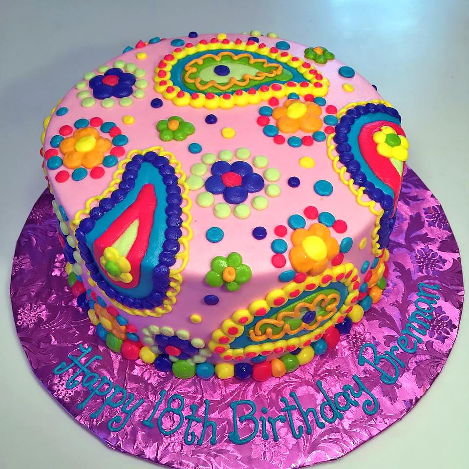 18th-birthday-cake-girls-paisley-rainbow-358