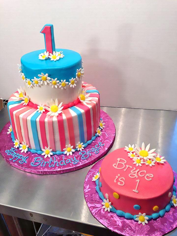 Girls 1st Birthday Cakes Hands On Design Cakes