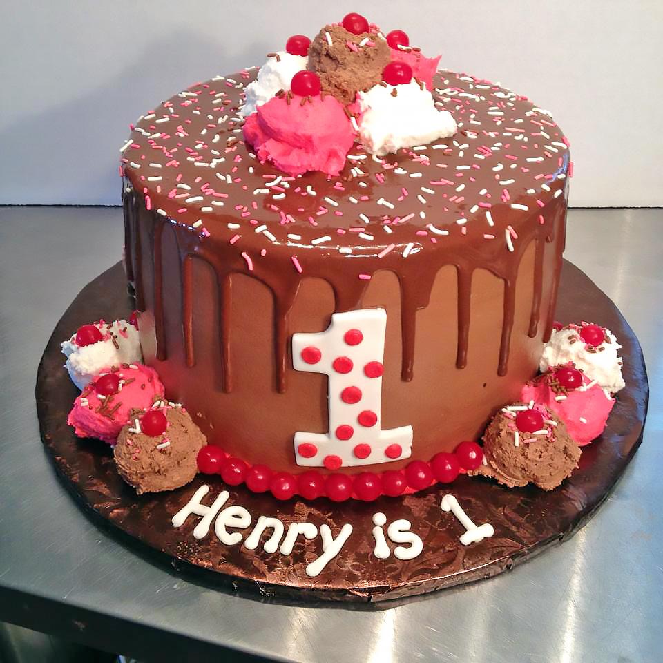 Boys 1st Birthday Cakes