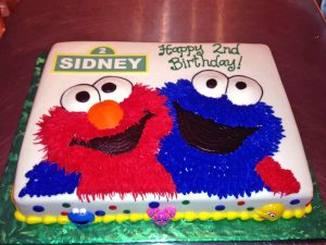 Kids Sesame Street Birthday Cakes Hands On Design Cakes
