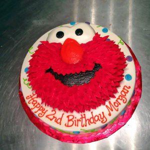 2nd birthday cake elmo kids 009 300x300 Birthday Cake Delivery In Dallas Texas