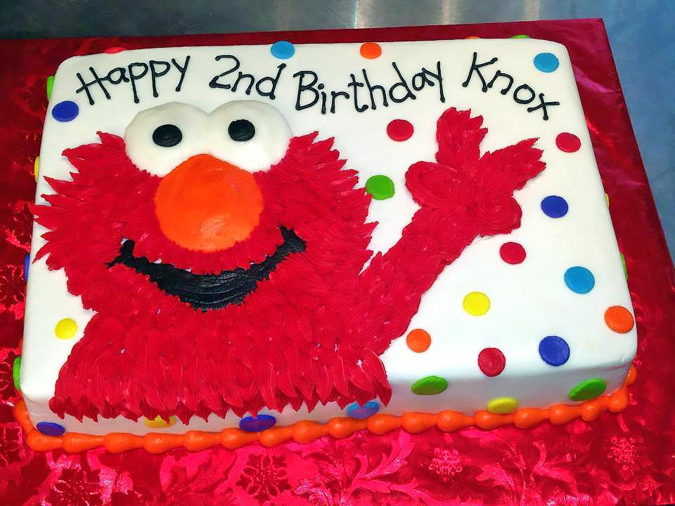 2nd Birthday Boys Cake Elmo 691 Load More
