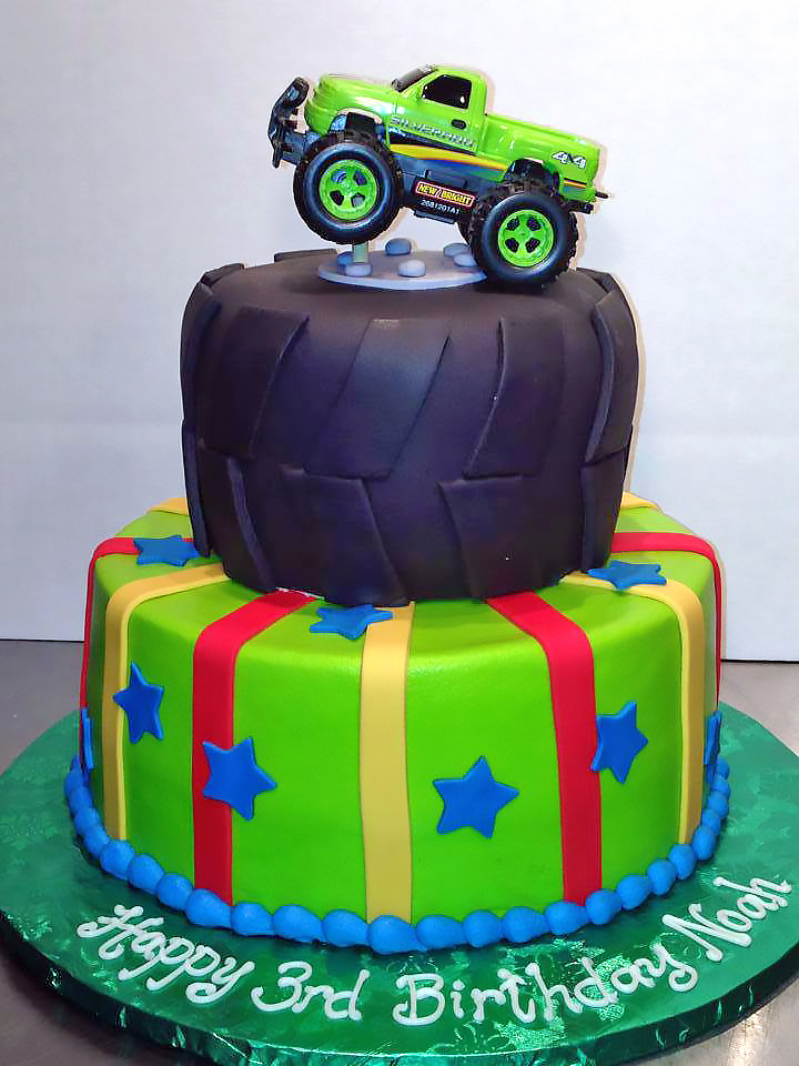 2tier-3rd-birthday-boys-cake-trucks-715
