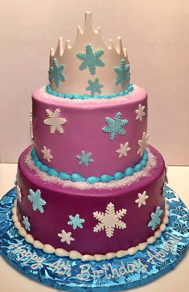2tier-4th-birthday-cake-girls-princess-snowflake-247