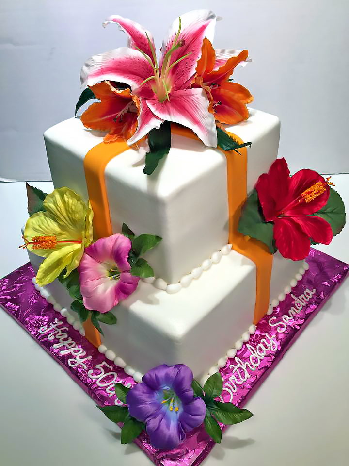 2tier-50th-birthday-adult-cake-flowers-406