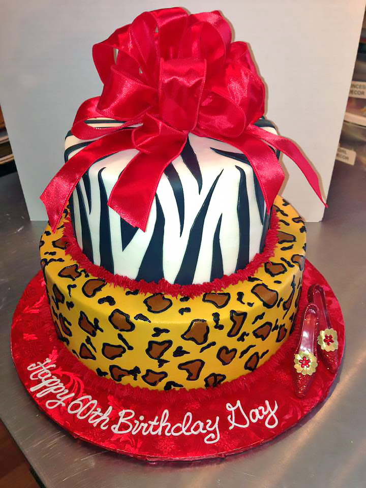 2tier-60th-birthday-adult-cake-fashion-leopard-shoes-zebra-738