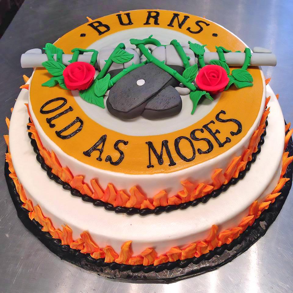 2tier Adult Birthday Cake 739