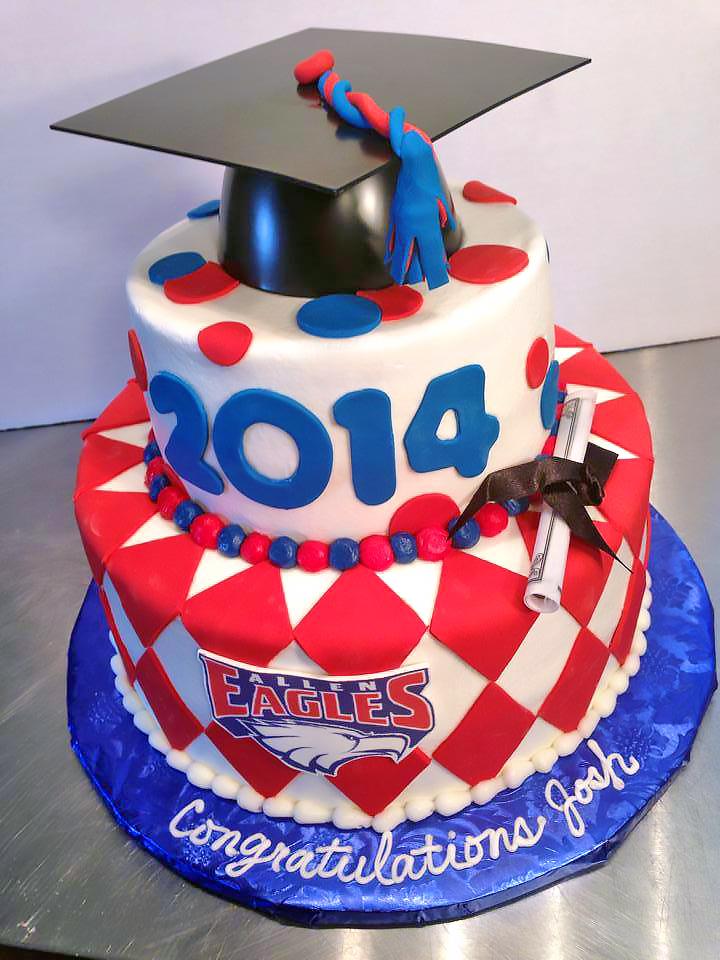 High School Graduation Cakes Hands On Design Cakes