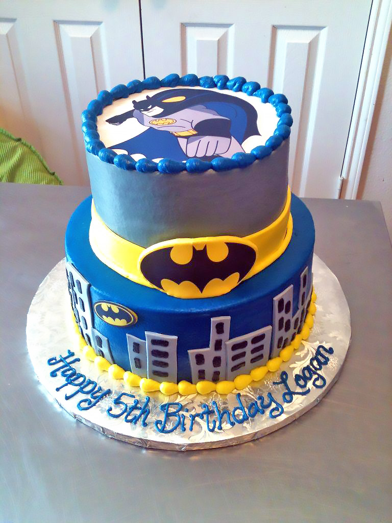Boys Superhero Birthday Cakes