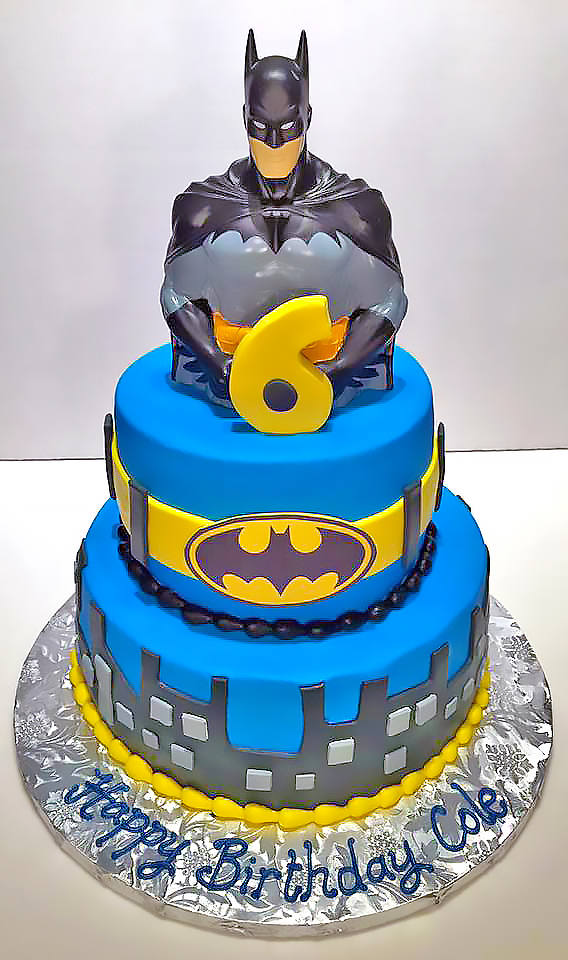 Boys Superhero Birthday Cakes Hands On Design Cakes
