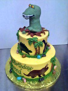 2tier-birthday-boys-cake-dinosaur-766