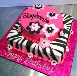 2tier-birthday-cake-flowers-girls-zebra-112