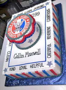 2tier-boy-scouts-boys-cake-congratulations-party-419