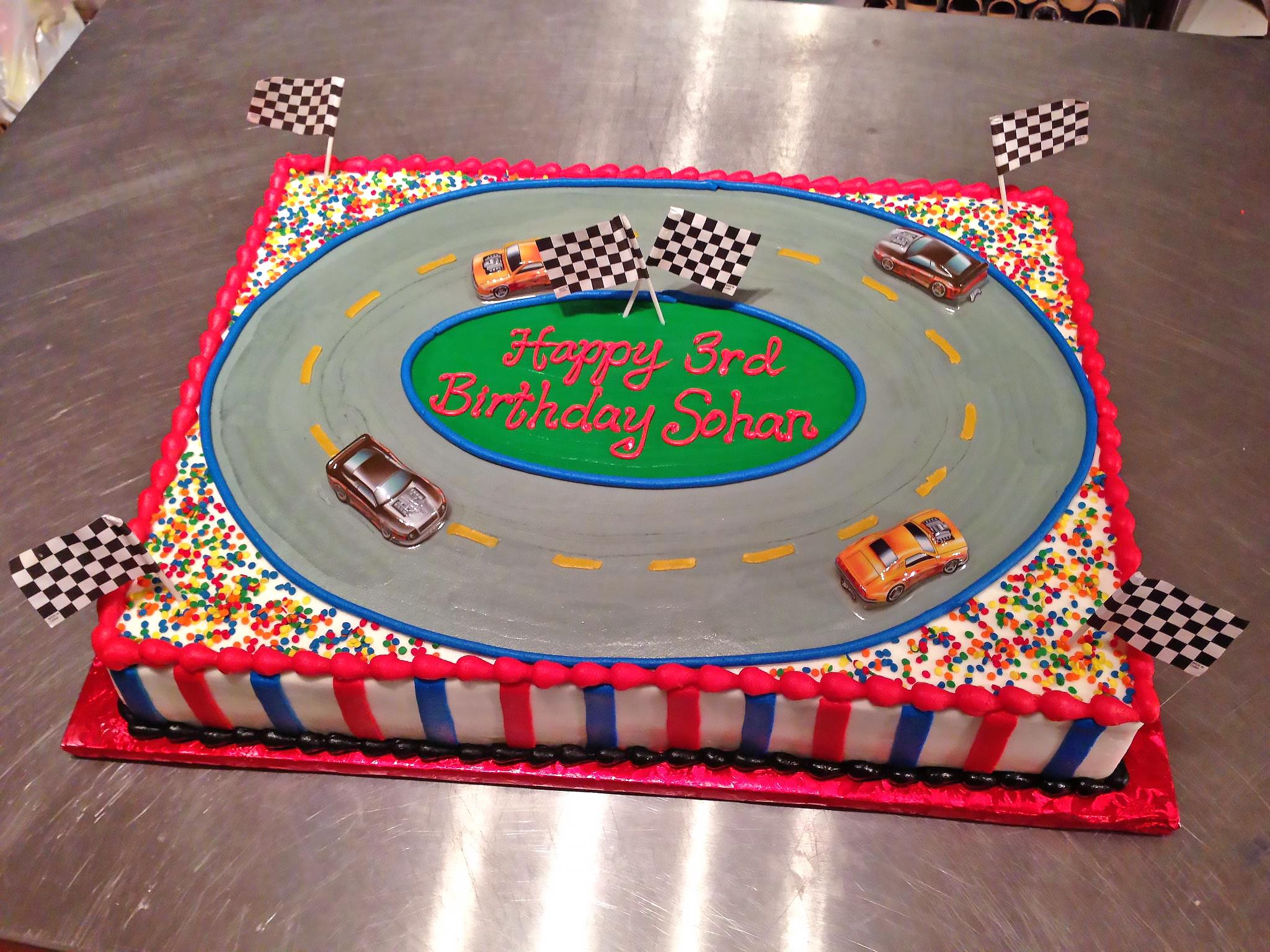 3rd birthday boys cake car 839 Birthday Cake Delivery In Dallas Texas