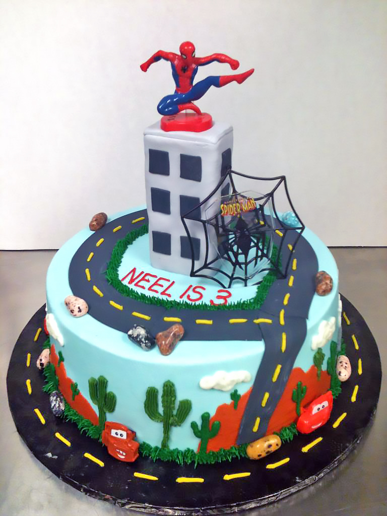 Cool Superhero Cakes Hands On Design Cakes Funny Birthday Cards Online Elaedamsfinfo