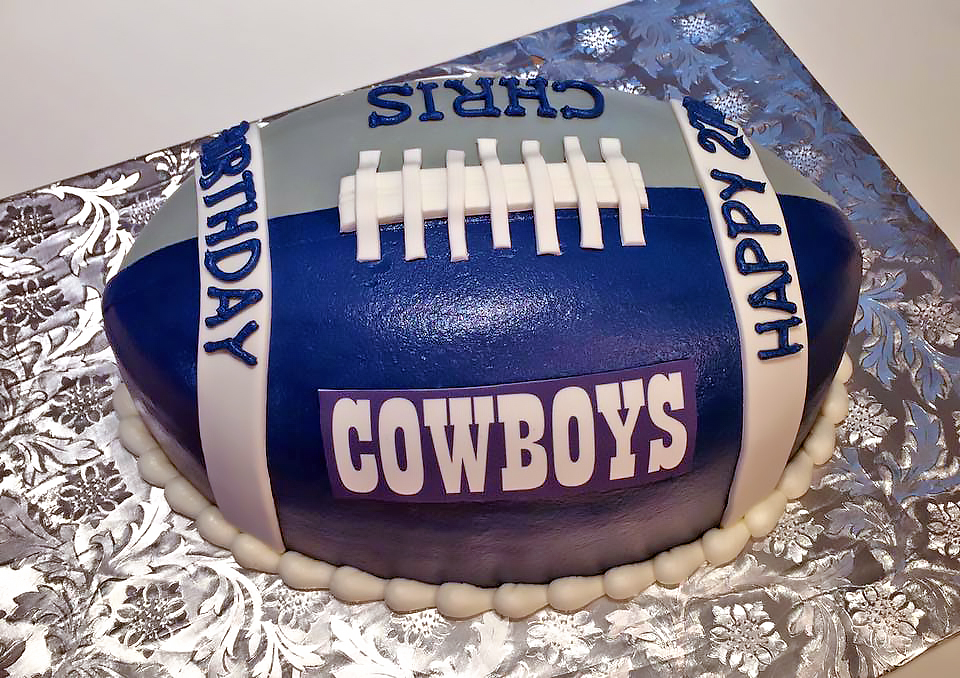 Adult Birthday Cake Dallas Cowboys Football 446