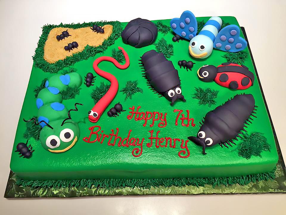 Garden Bug Cake