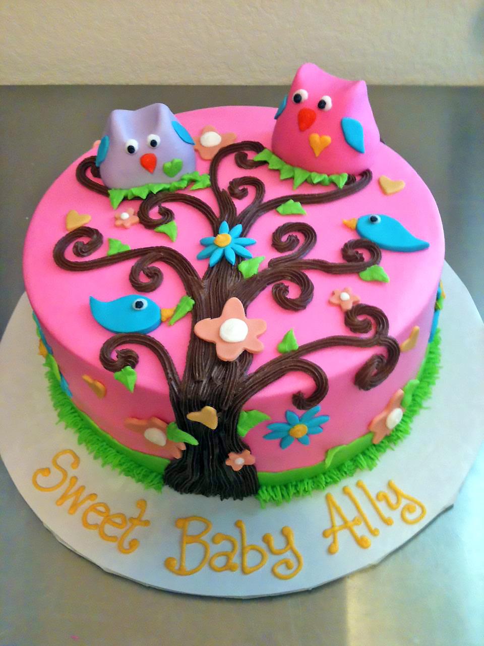 baby-shower-cake-girls-owl-983