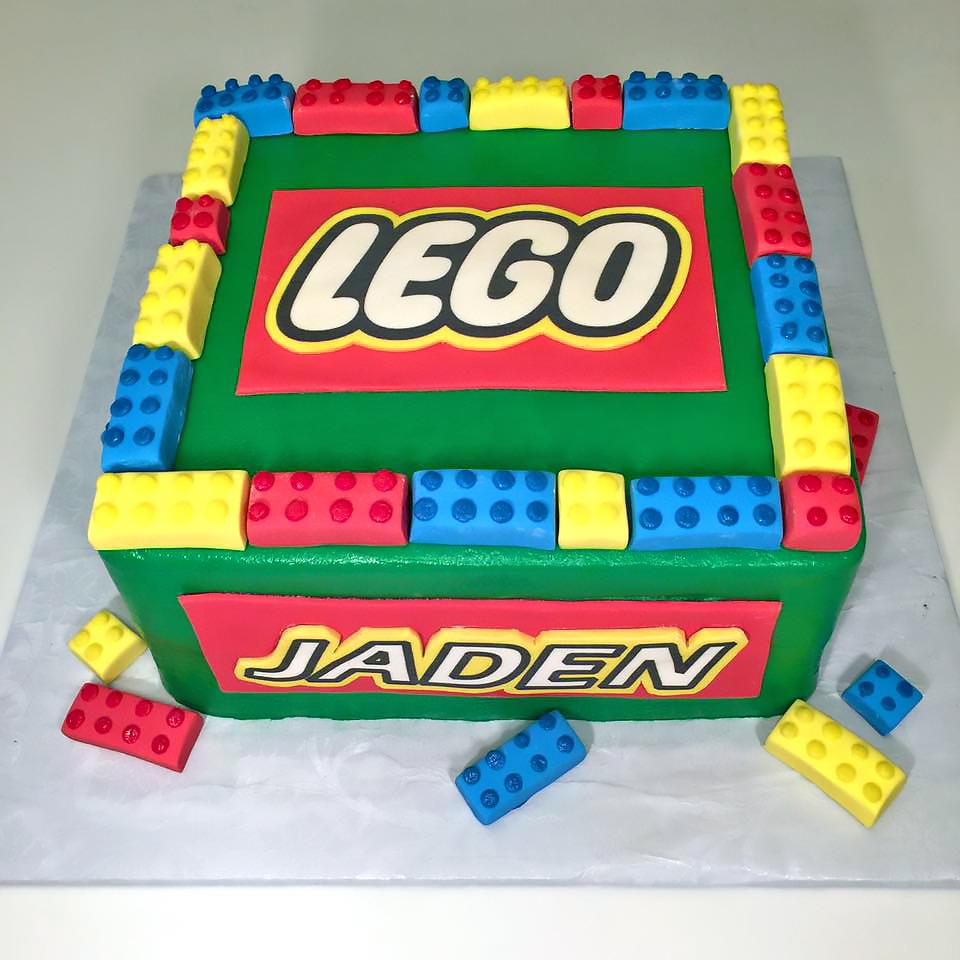 Lego Birthday Cakes Hands On Design Cakes