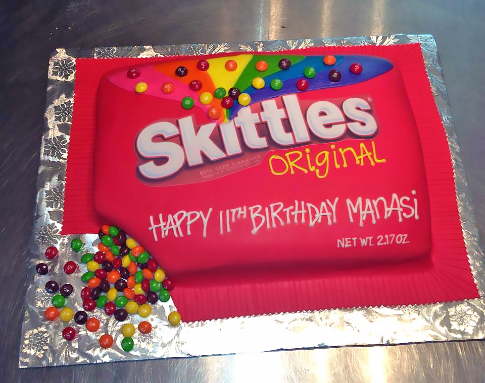 Candy Birthday Cakes
