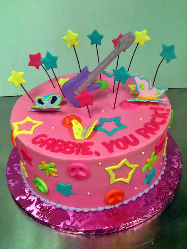 Girls Birthday Cake Ideas Hands On Design Cakes