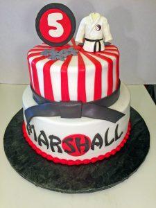 boys-birthday-2tier-5th-birthday-ninja-cake-077