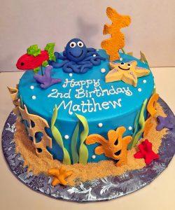boys-birthday-starfish-2nd-birthday-octopus-cake-016