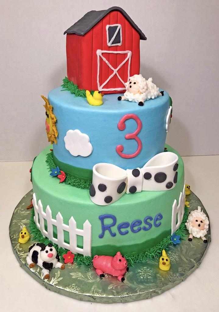 cake-3tier-farm-animal-sheep-pig-duck-cow-3rd-birthday-girls-082
