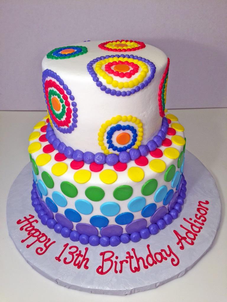 cake-girls-2tier-dots-hippie-054