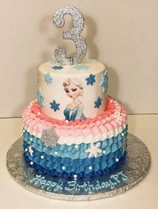 cake-2tier-girls-3rd birthday-frozen-elsa-pink-blue-03232-2-20