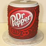 Cake, Birthday, Party, drpepper, can